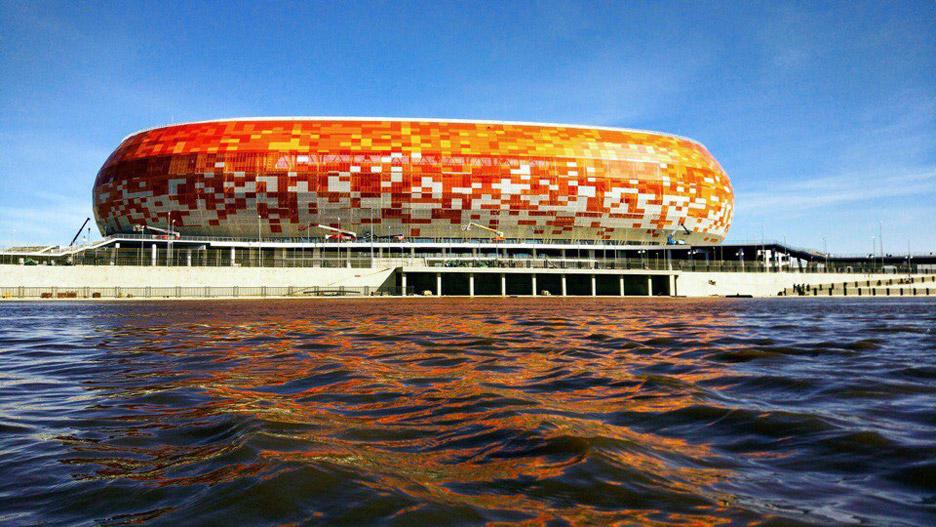 estádios do Mundial 2018 - Mordovia Arena