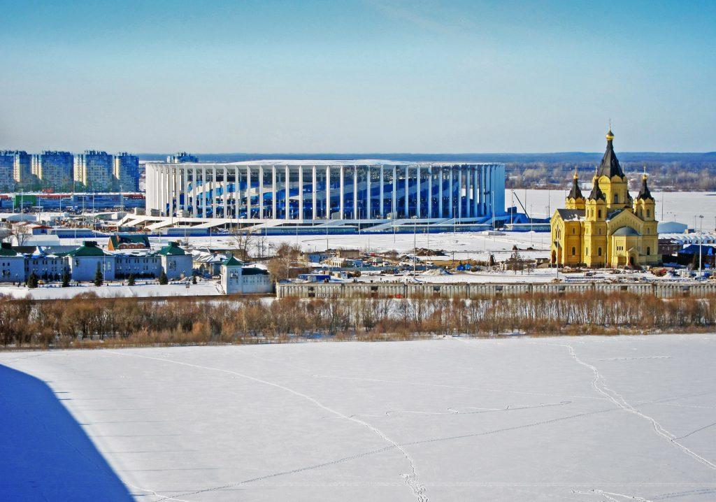 estádios do Mundial 2018 - Nizhny Novgorod Stadium