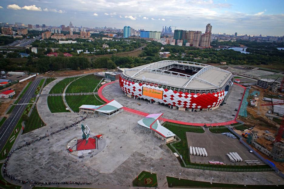 estádios do Mundial 2018 - Spartak Stadium