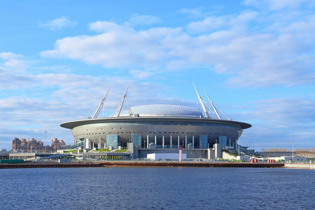 estádios do Mundial 2018 - St Petersburg Stadium