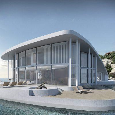 casa de praia linda