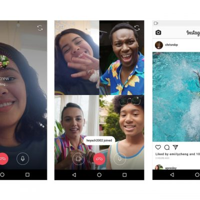 videochamadas do Instagram