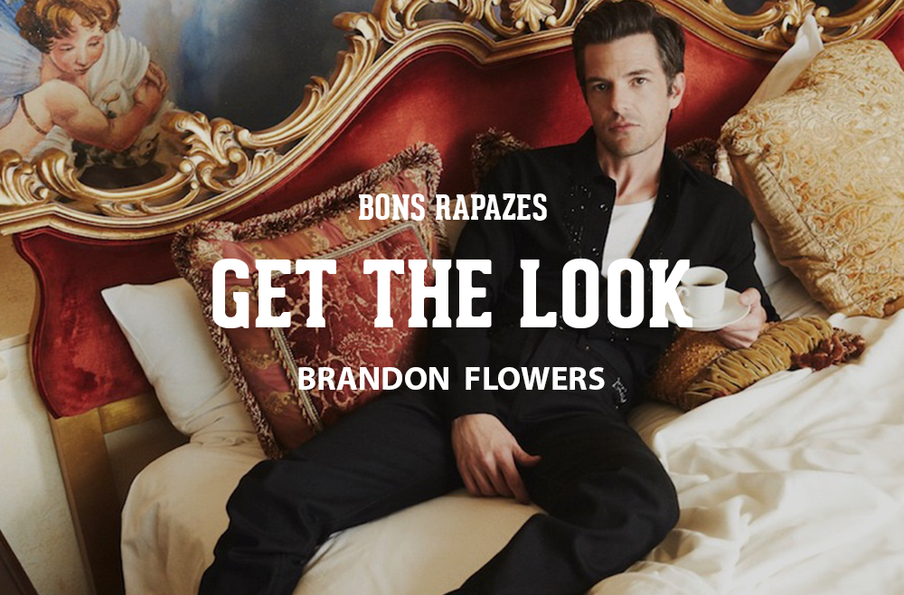 Get the look - Brandon Flowers