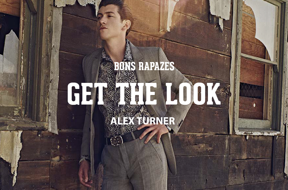 Get The Look - Alex Turner