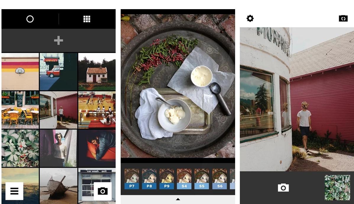 melhores aplicações de edição de fotos - VSCO