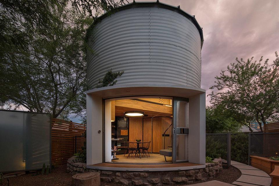 silo de armazenagem