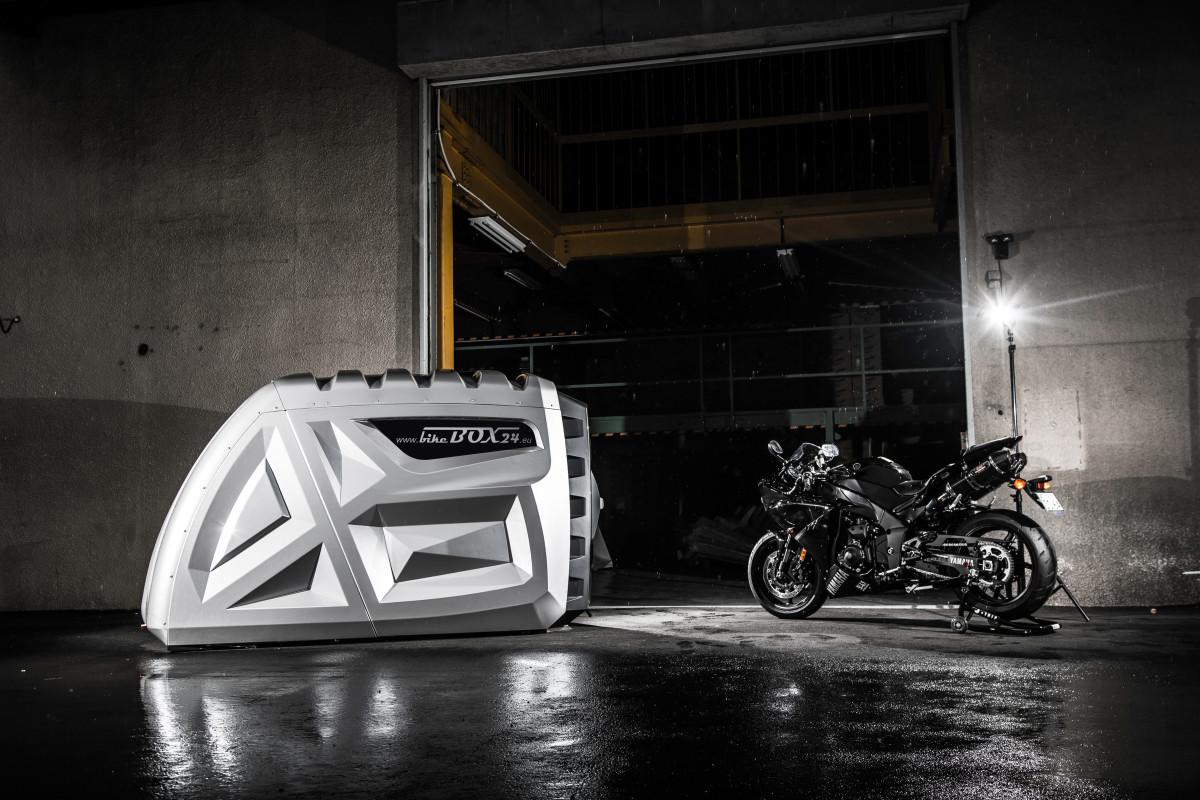 garagem portátil - BikeBox 24