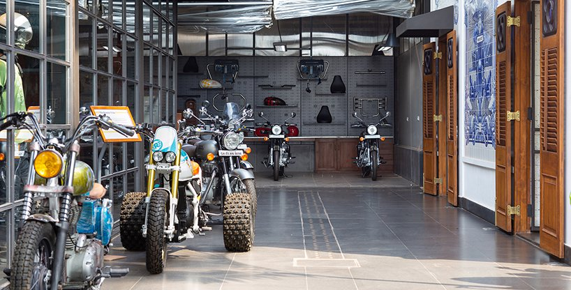 Royal Enfield Garage Cafe