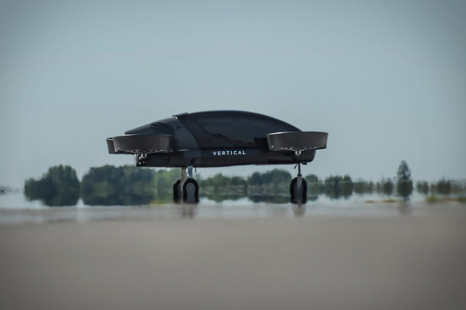 Vertical Aerospace Evtol Aircraft