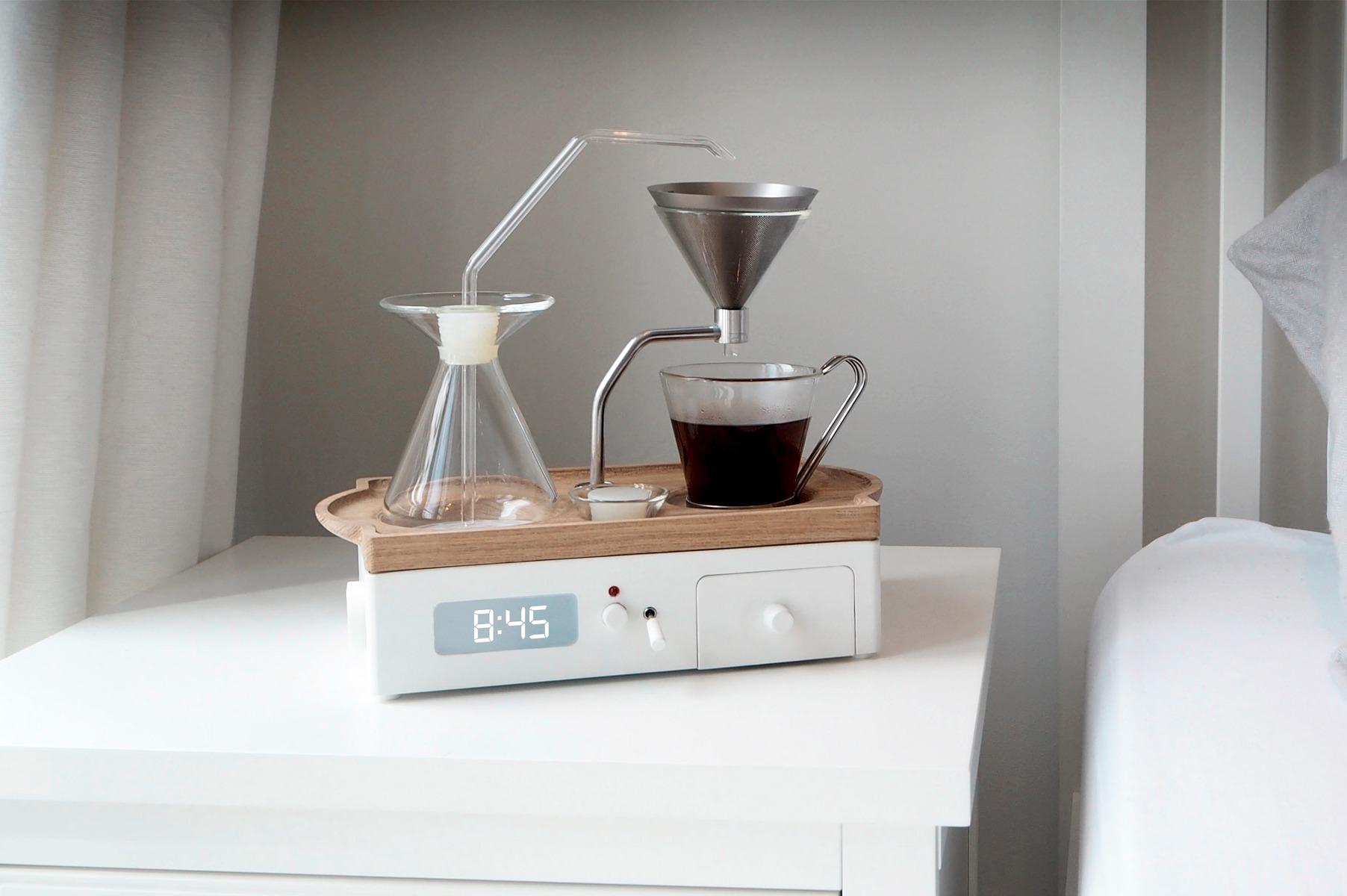 despertador cafeteira