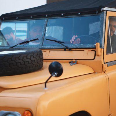 transformar um Land Rover num elétrico
