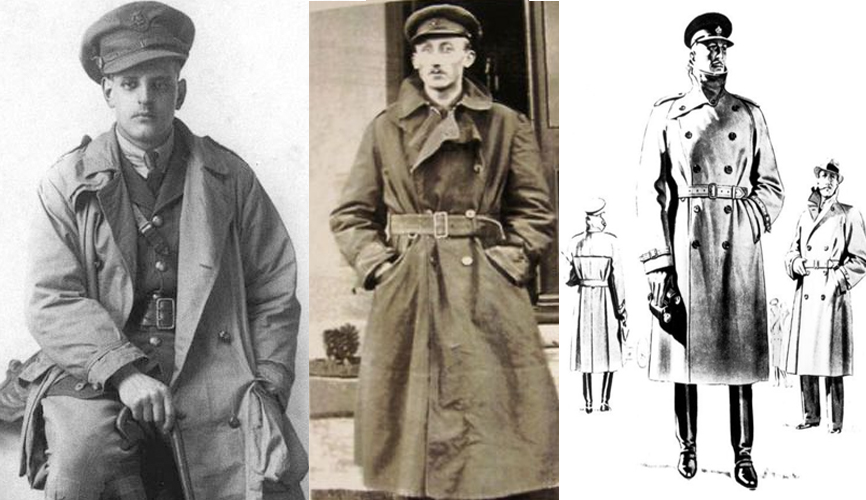 história do Trench Coat