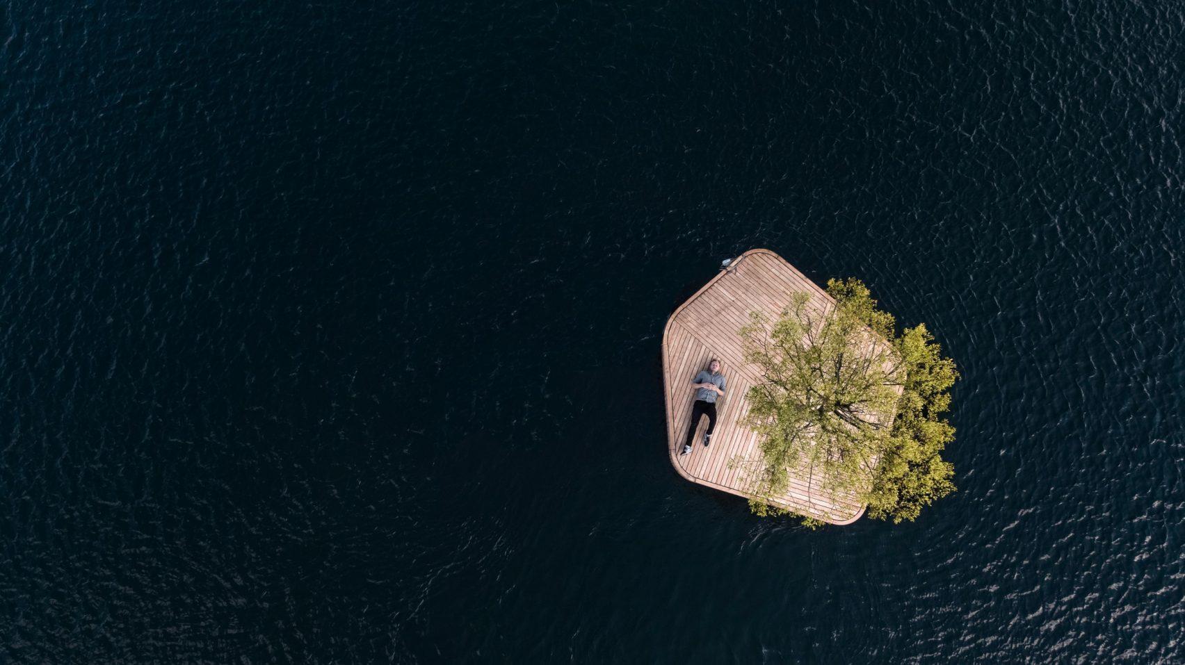 Copenhaga tem ilhas e flutuam