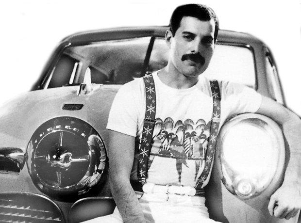 coleção de carros icónica de Freddie Mercury