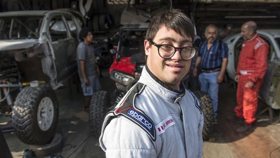primeiro piloto com Síndrome de Down a competir no Dakar