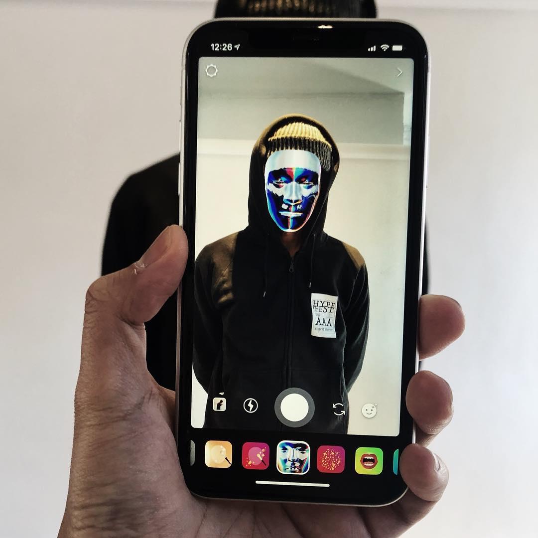 novos filtros faciais do Instagram