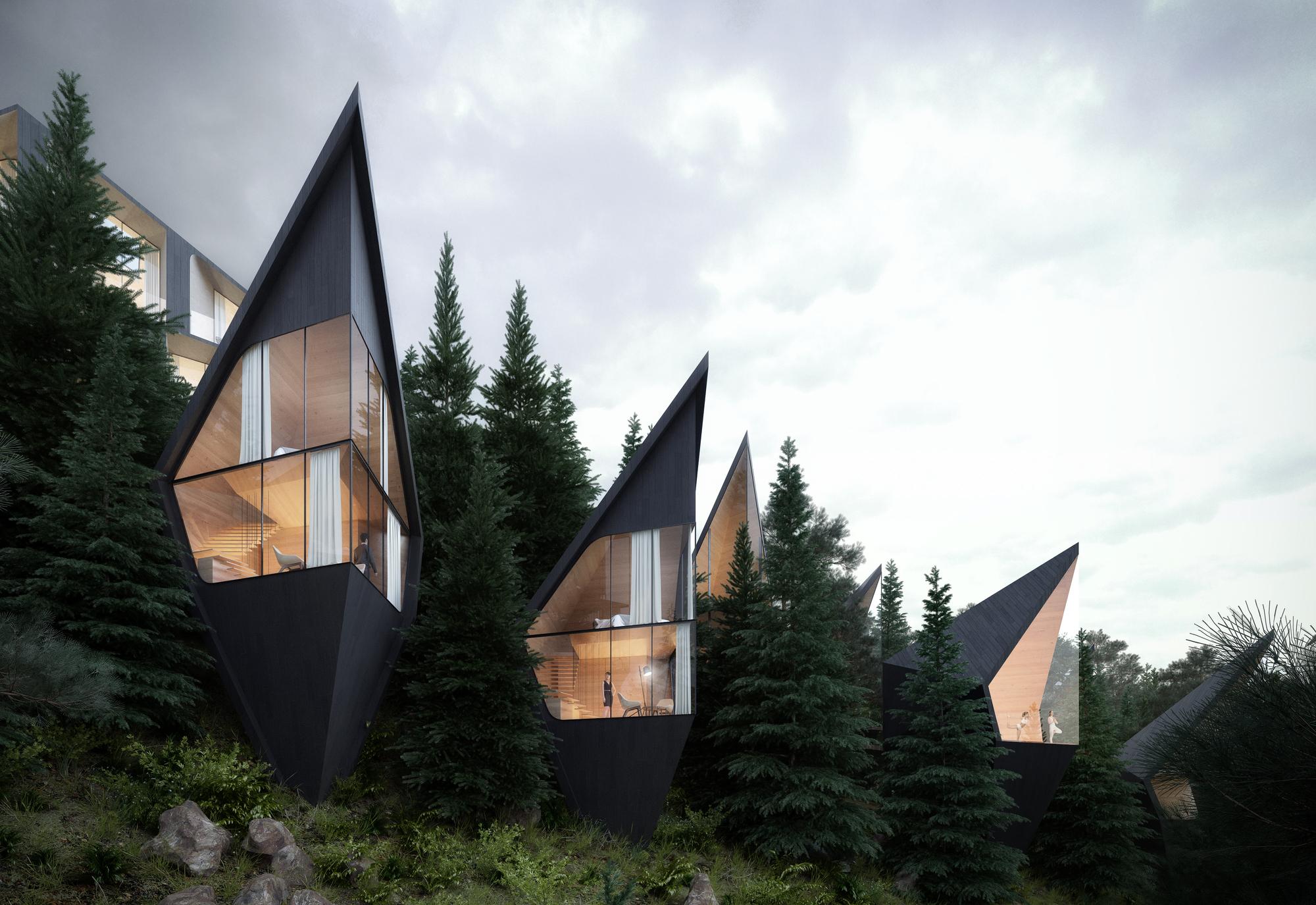 Dolomite Treehouses