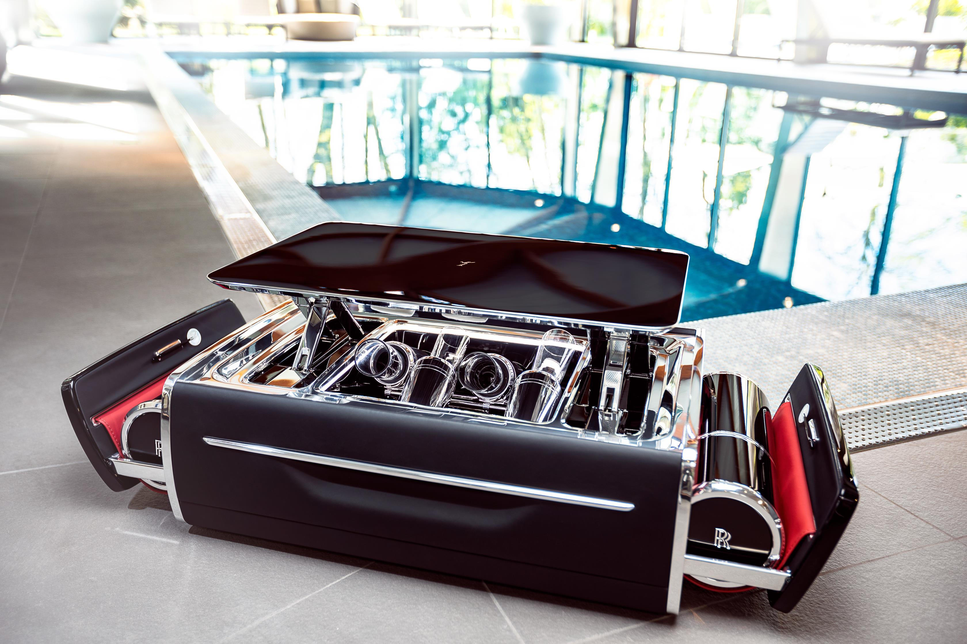 baú de Champagne da Rolls-Royce
