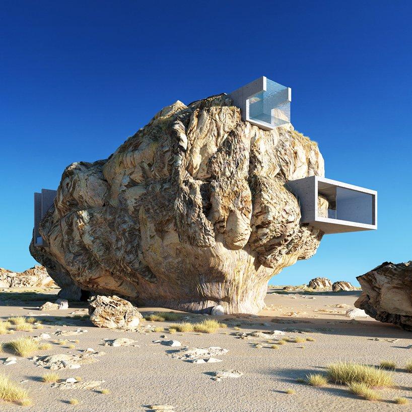 House Inside A Rock