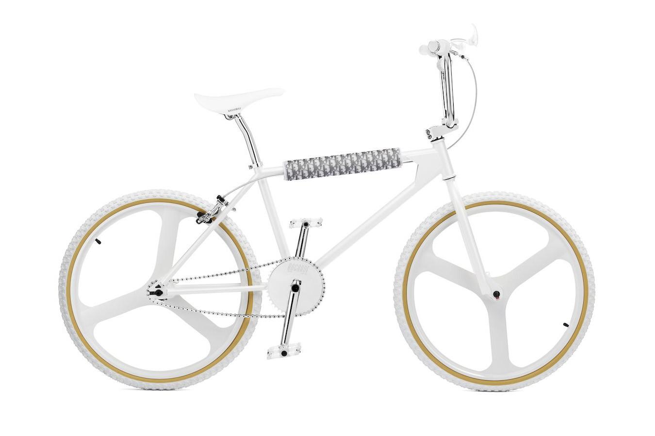 White BMX Bike