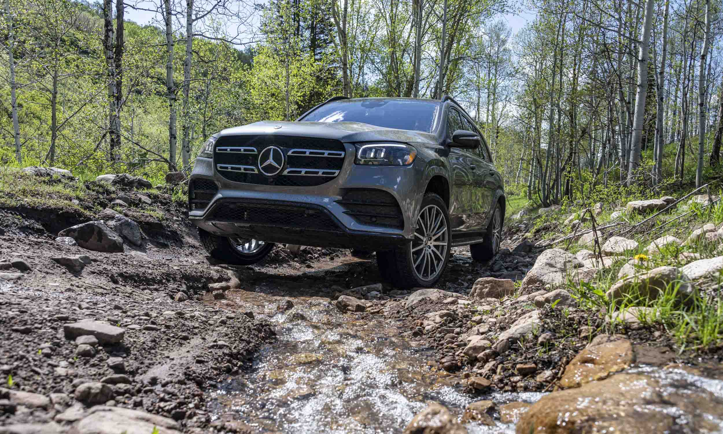 SUV mais luxuoso da Mercedes-Benz