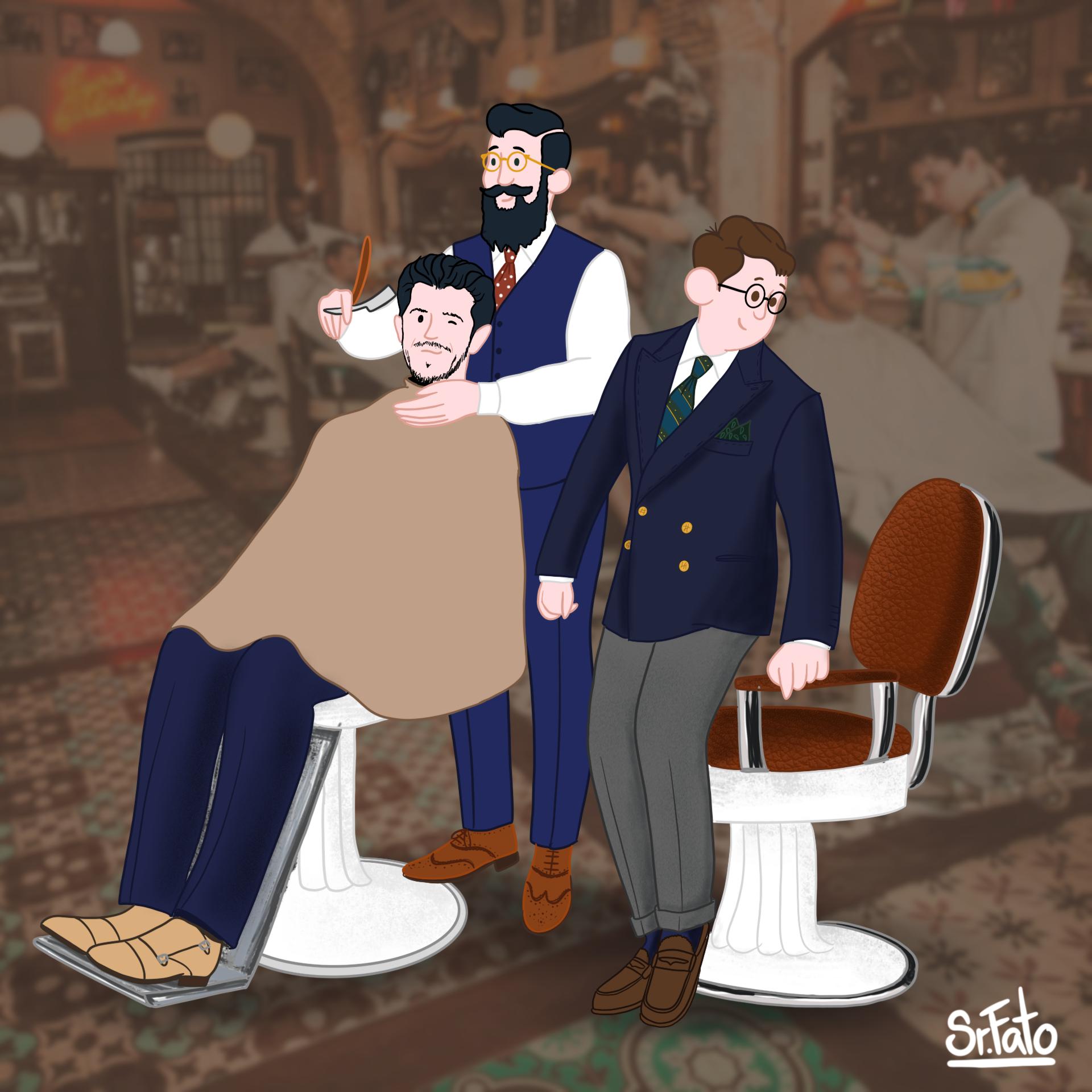 Sr. Fato - barbeiro