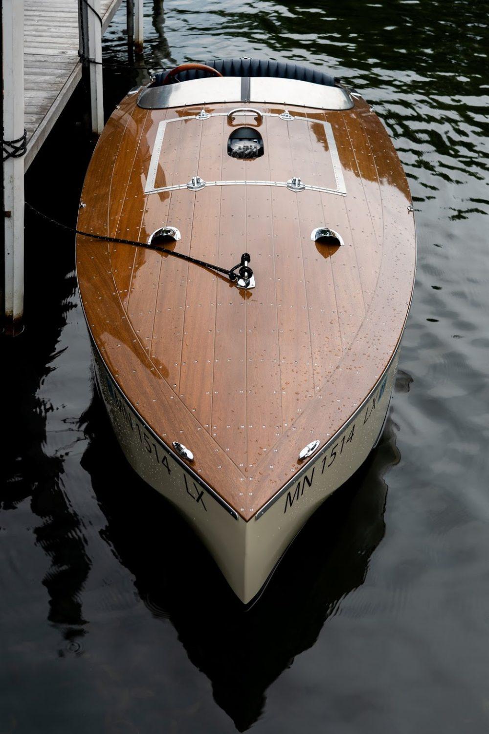 Fitzke Bugbite Wooden Boat