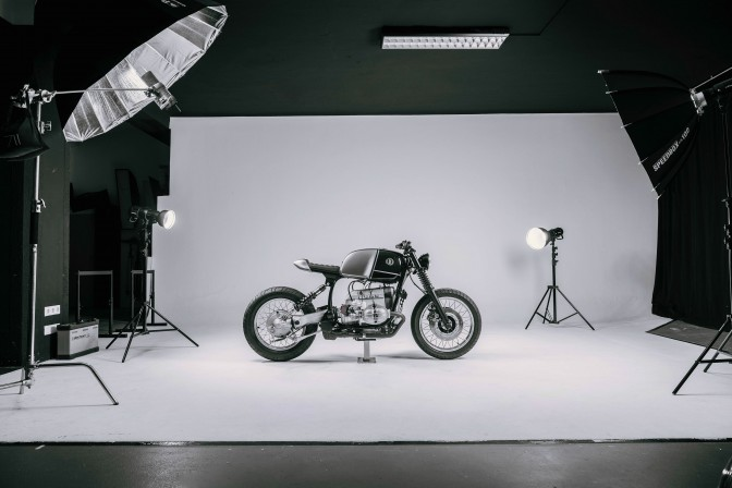 V10 BMW R100R by Vagabund Moto