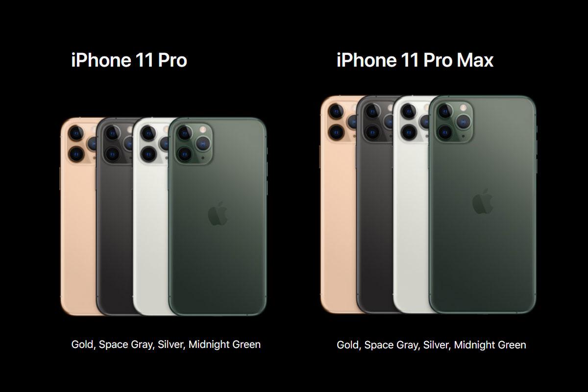 Iphones 11, 11 Pro e 11 Pro max