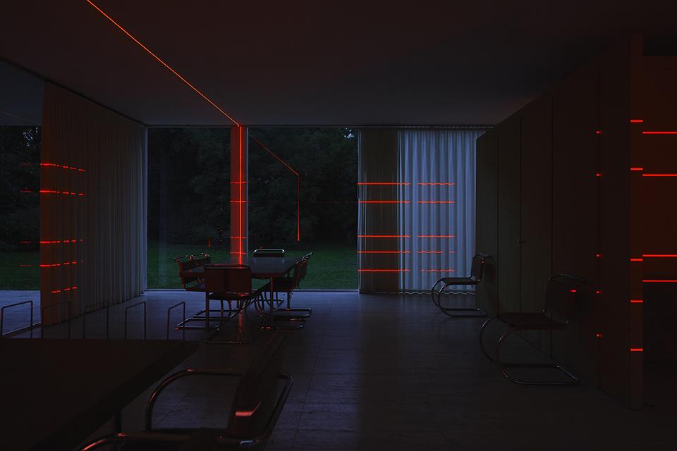 Geometry of Light – Farnsworth House