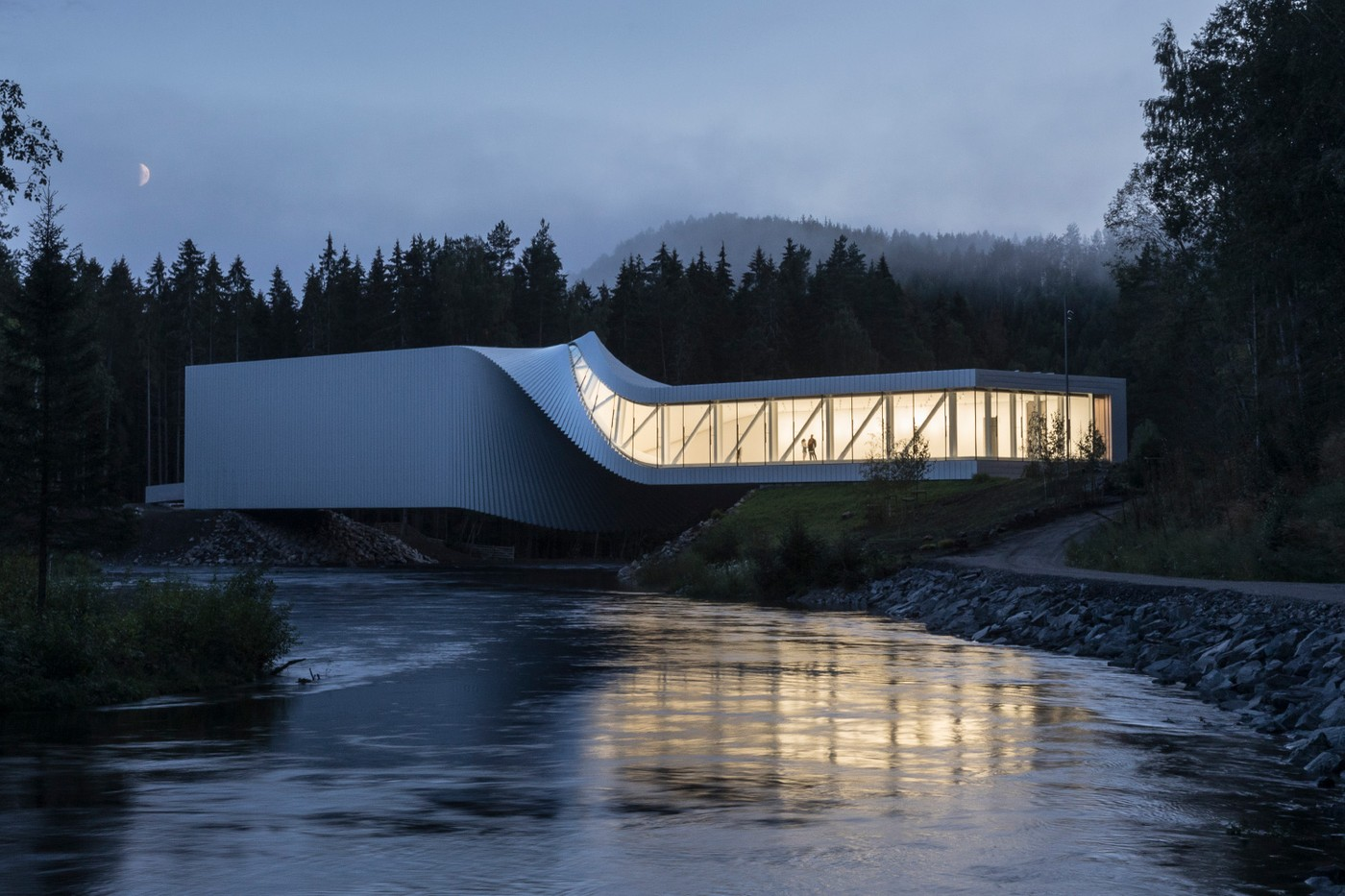 Kistefos Twist Bridge