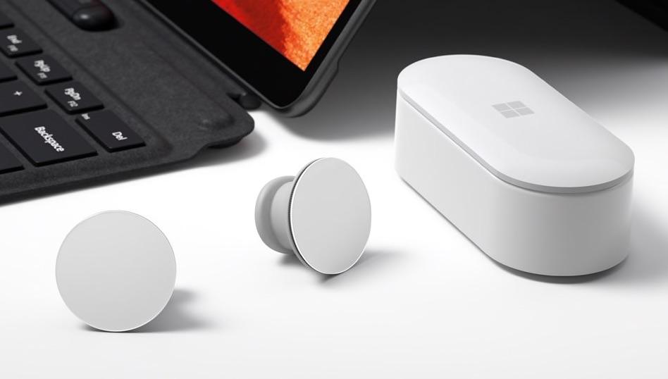 earbuds da Microsoft