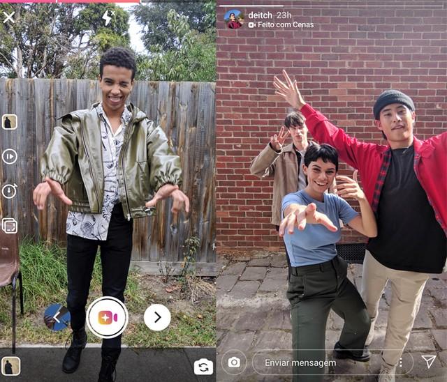 Instagram testa novo feature de música para as stories