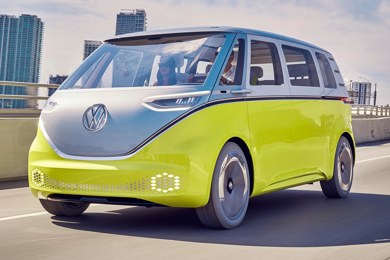 volkswagen mini-vans elétricas