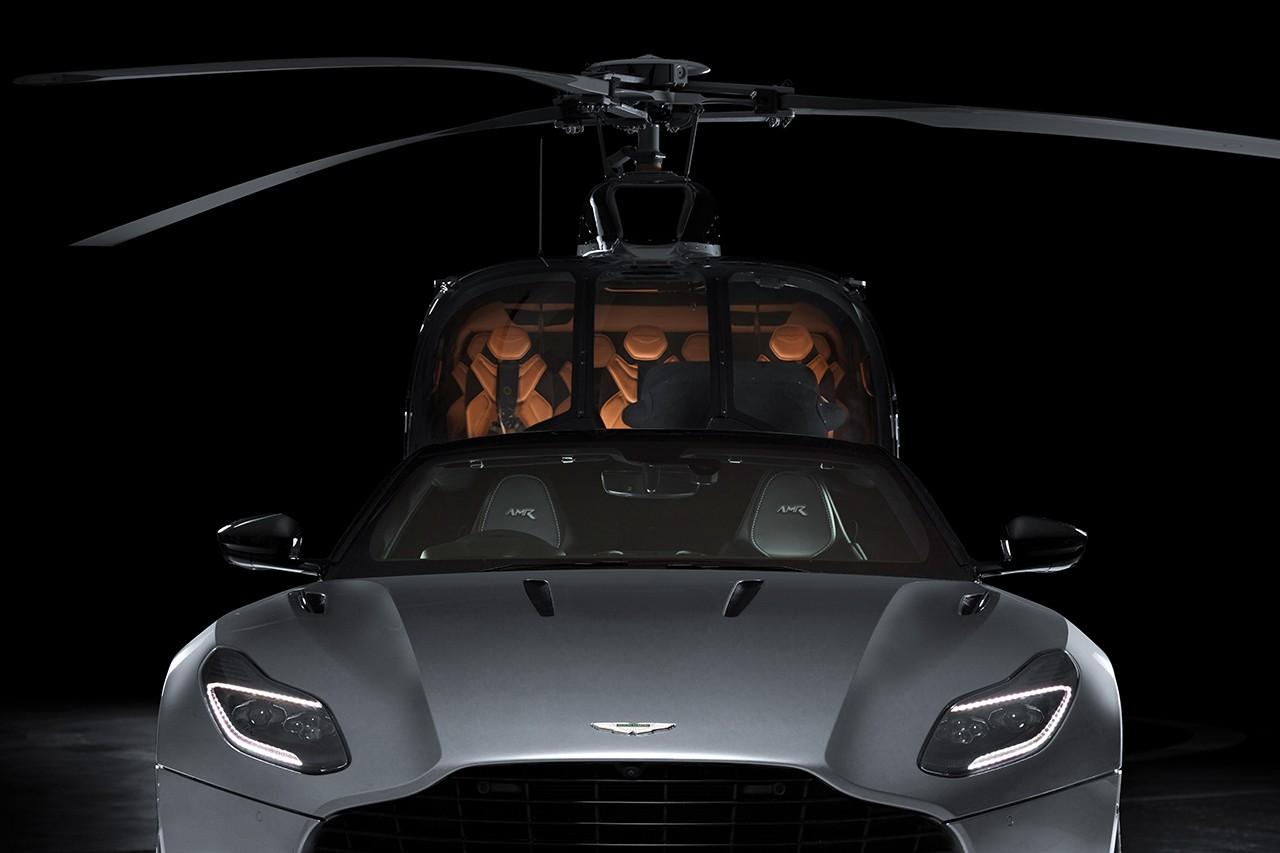 Aston Martin lança helicóptero