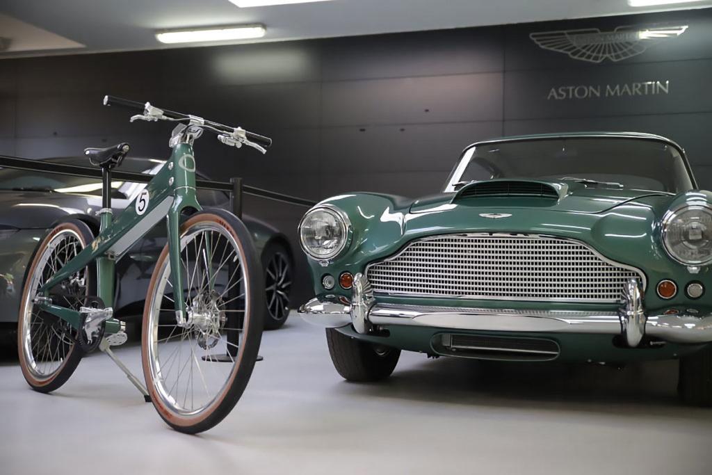 Coleen x Aston Martin E-bike