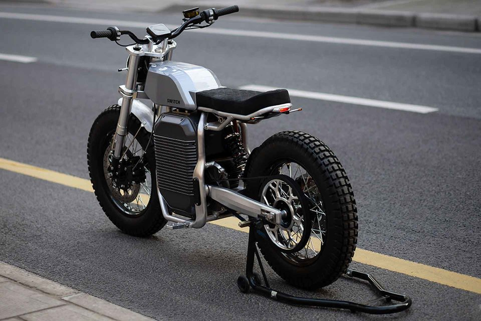 Switch sScrambler Motorcycle