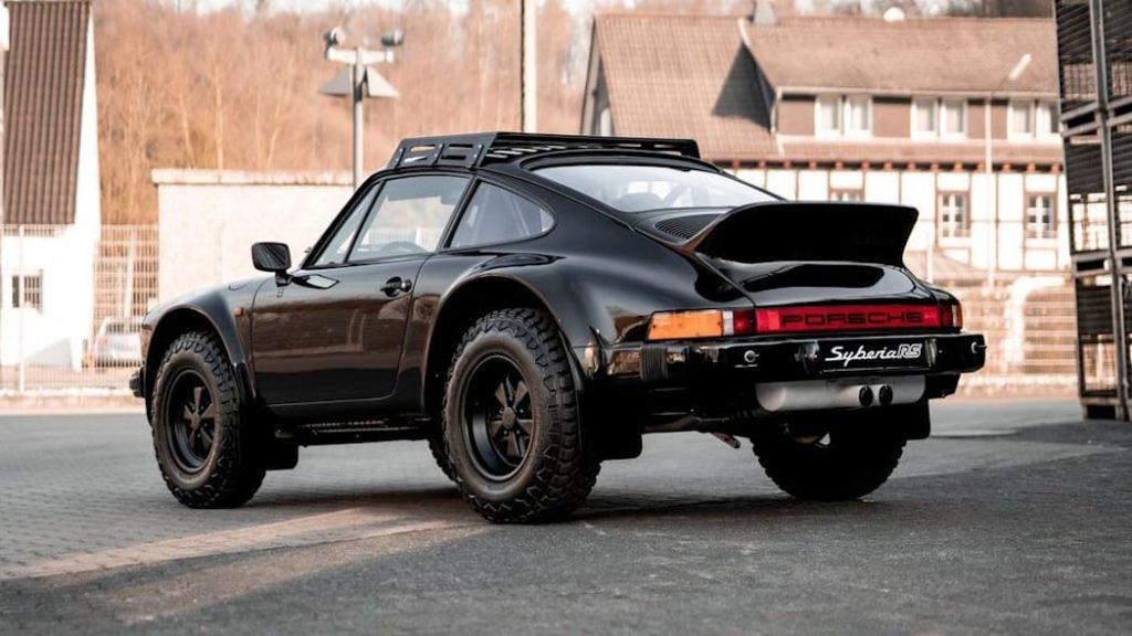 Porsche Syberia Rs Rally Car