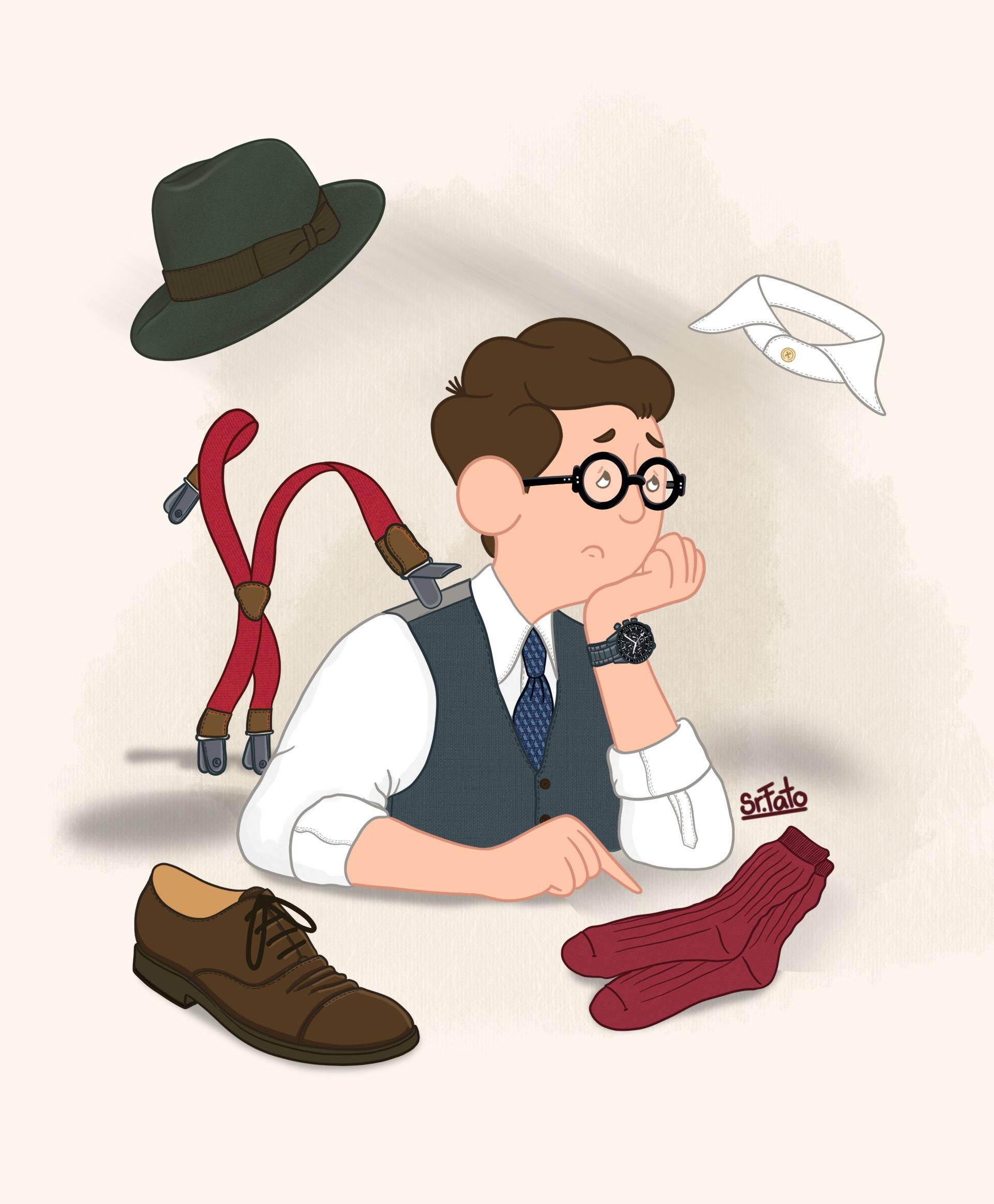 Problemas de quem veste como gentleman