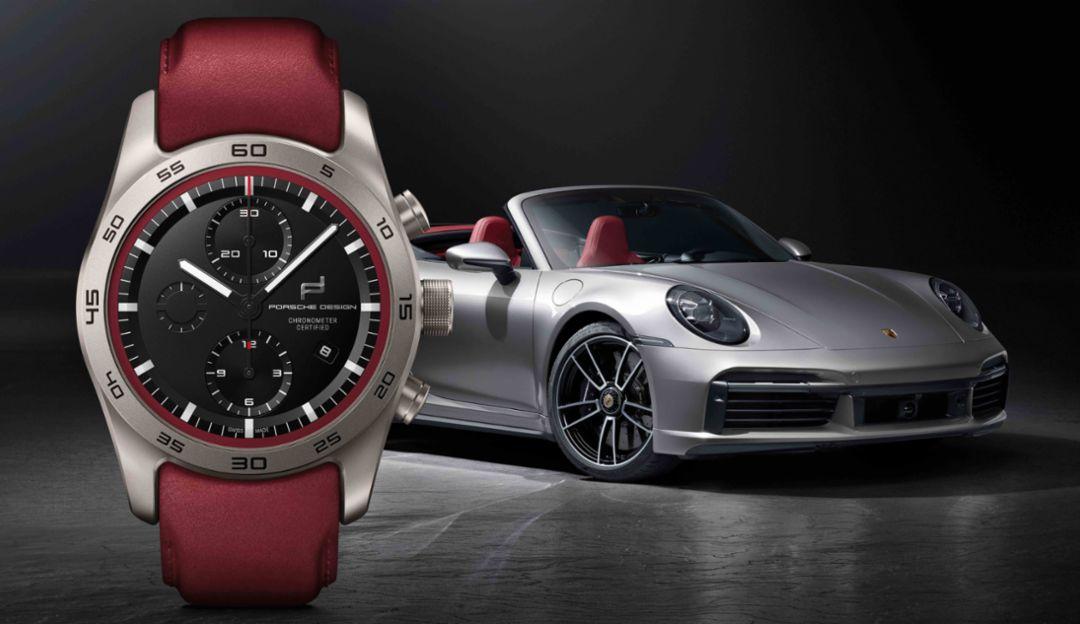 personalização de relógios Porsche