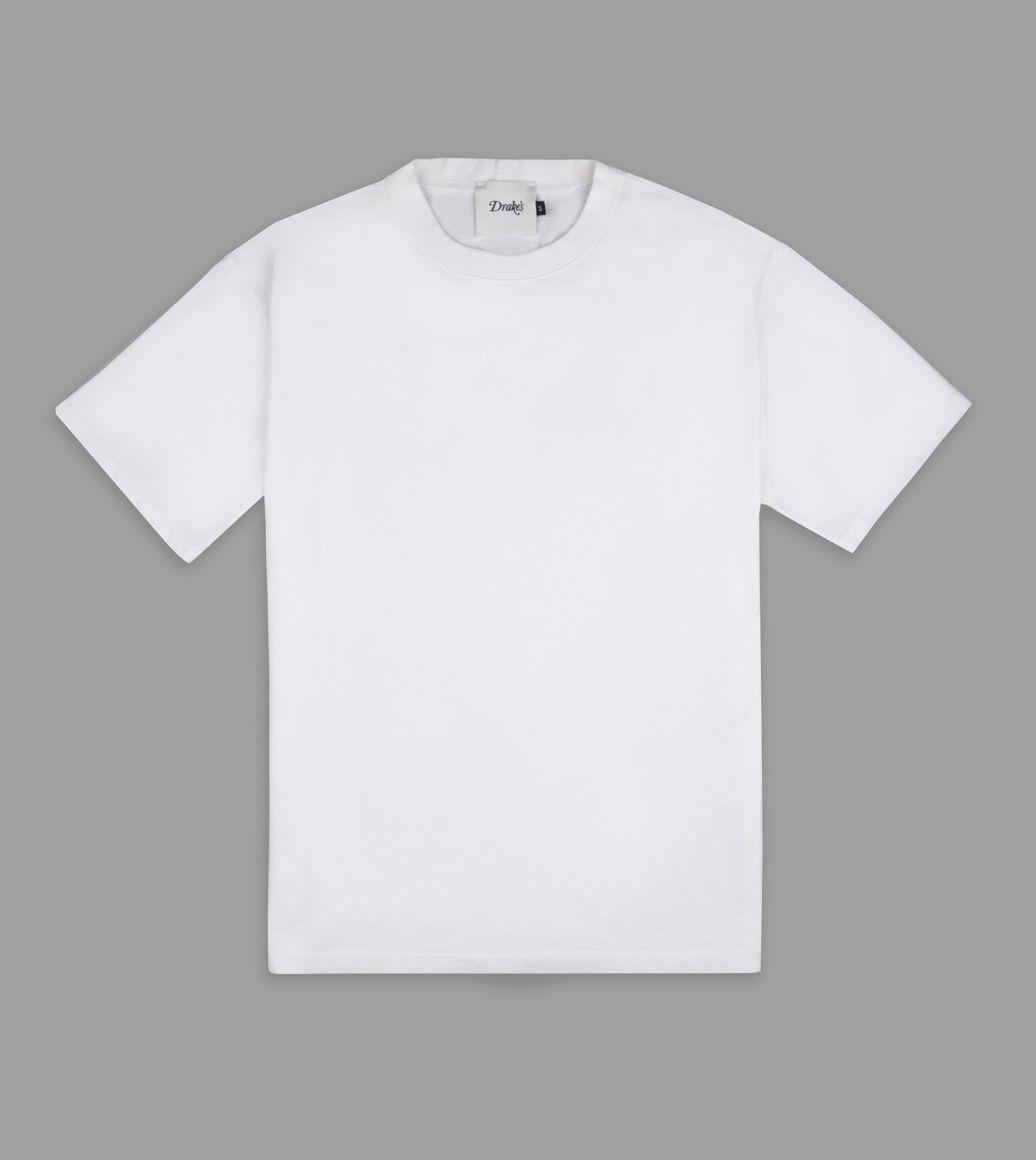 senhor fato drake's tshirt branca
