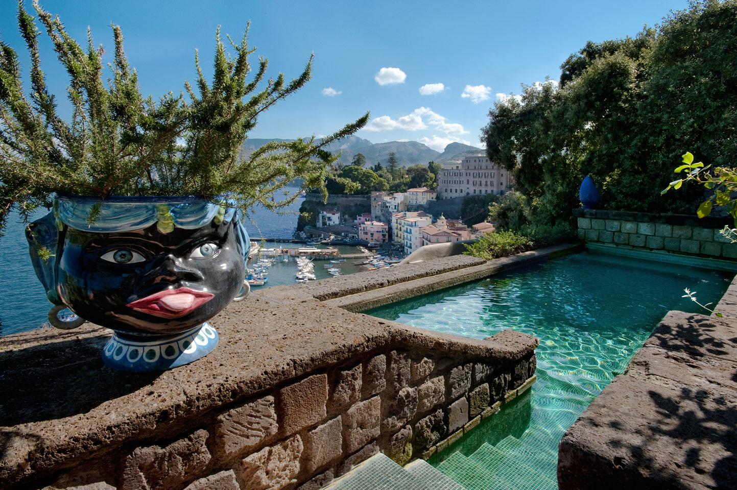 A piscina do La Minervetta