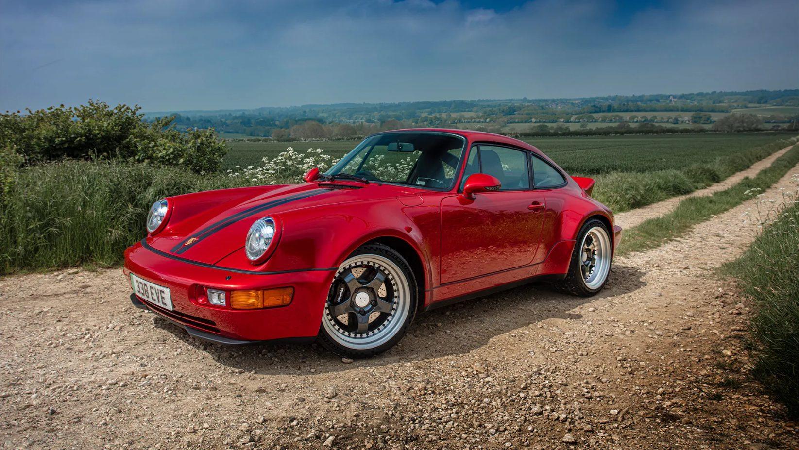 Porsche 911 reconvertido pela Everrati