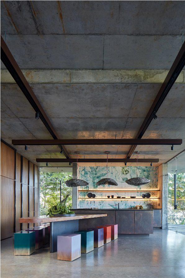 cozinha da Art villa