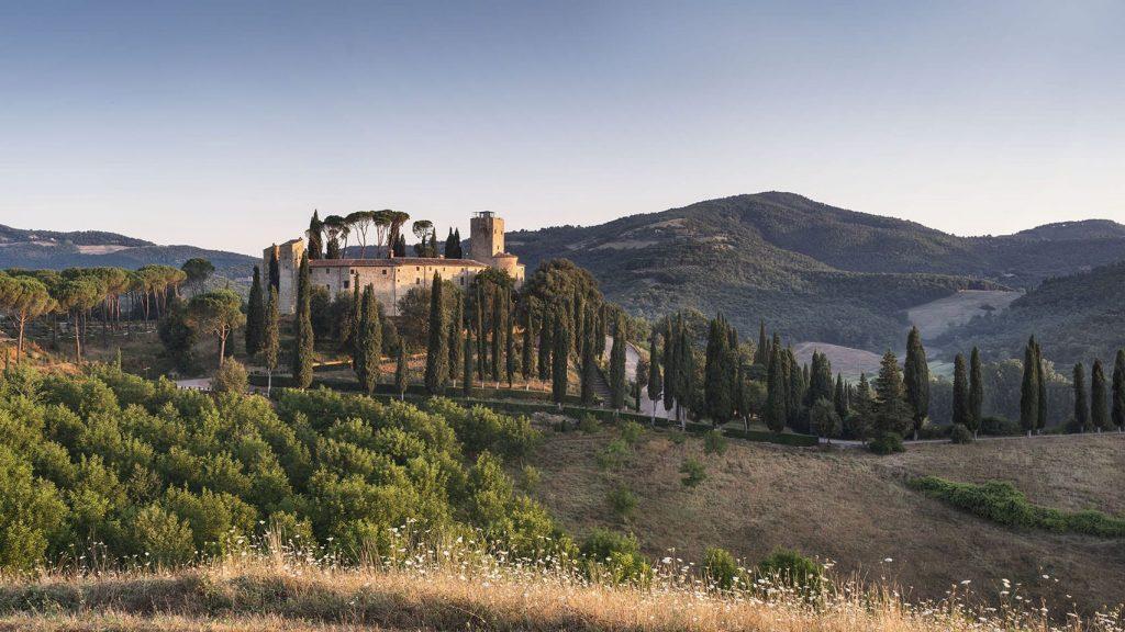 O castelo Reschio