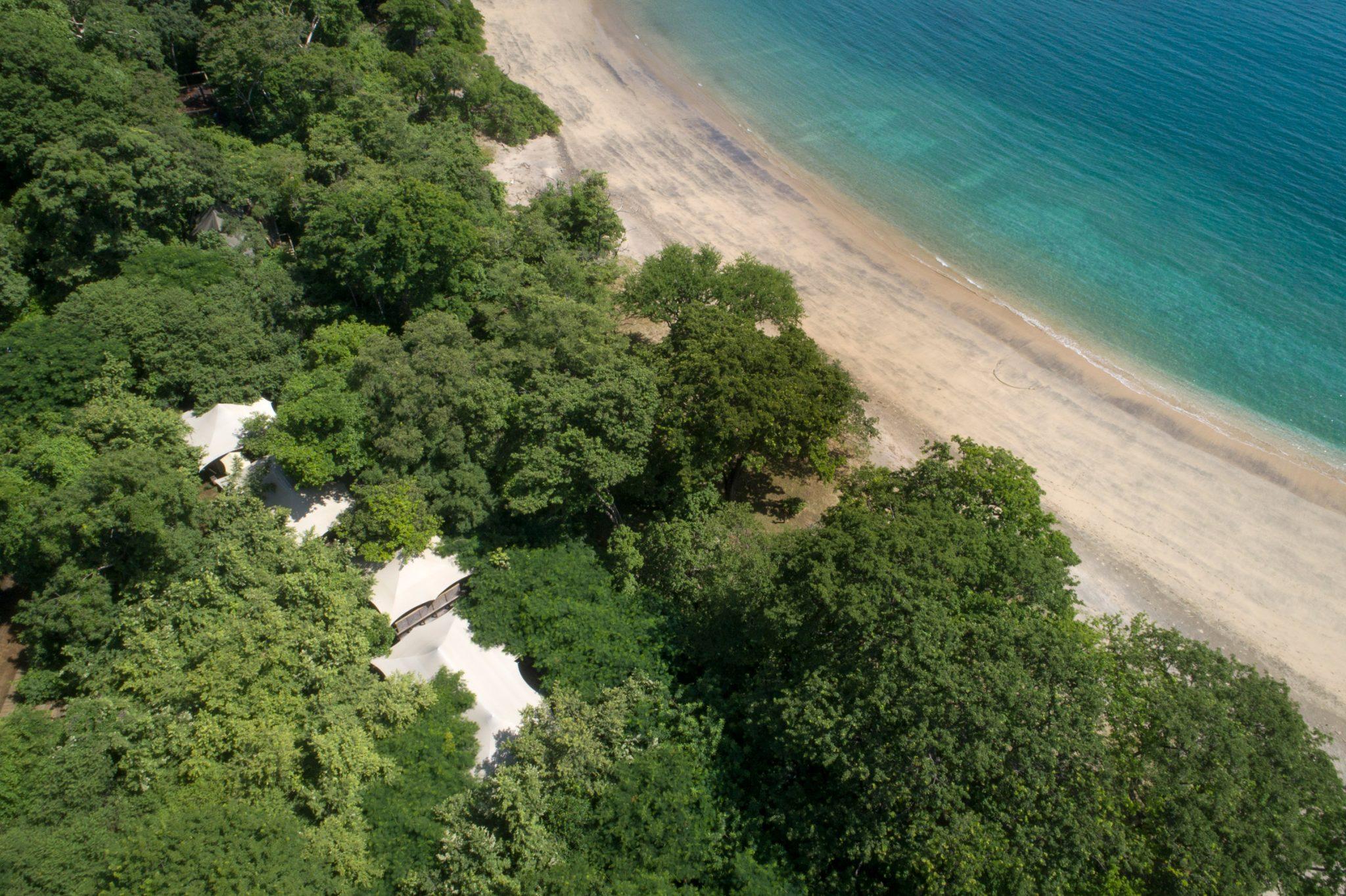 Vista aérea do Kasiiya Papagayo