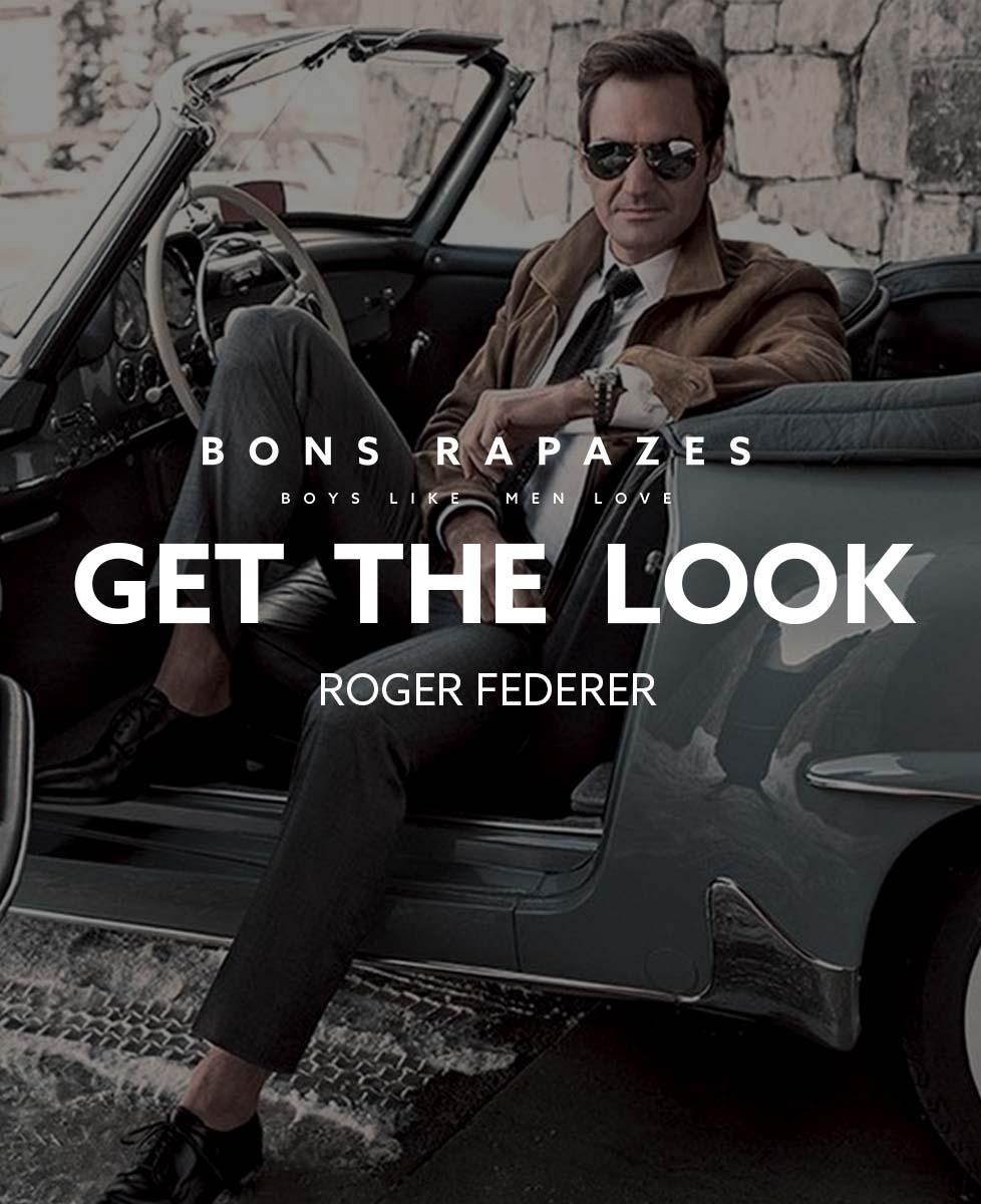 Roger Federer Get The Look