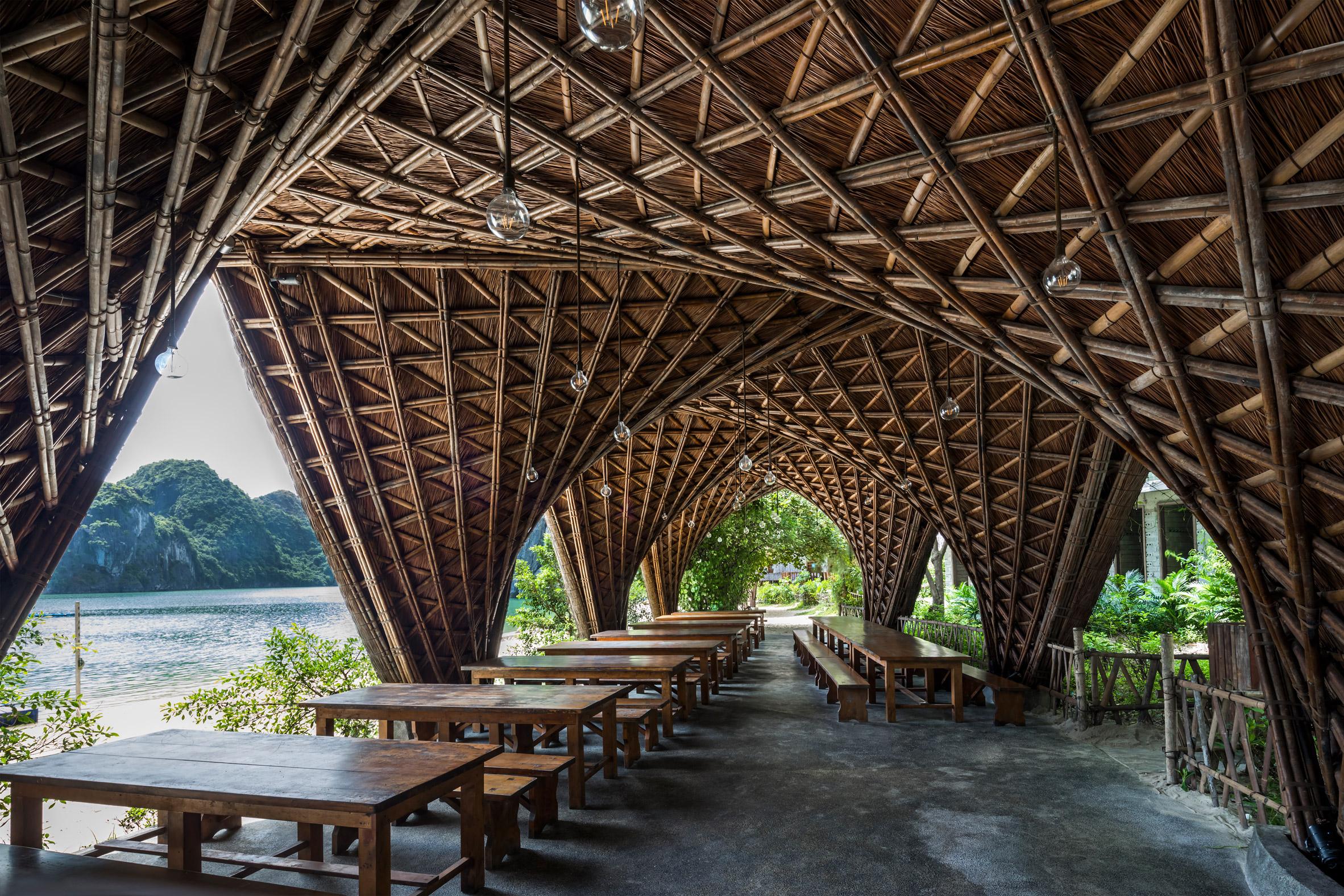 O restaurante do Castaway Island Resort