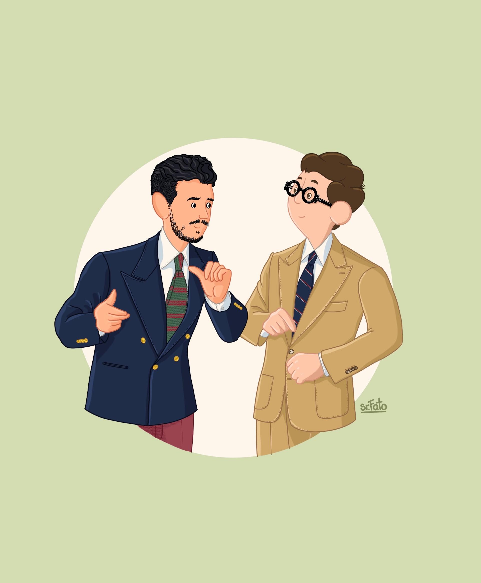 Sr. Fato, conversar como um gentleman