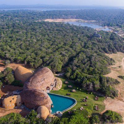 O Wild Coast Tented Lodge no Sri Lanka